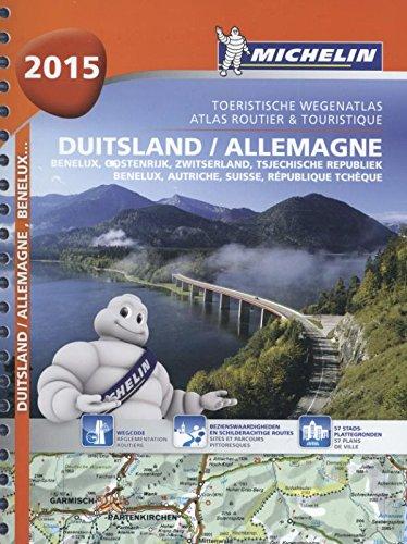 ALLEMAGNE / AUTRICHE / BENELUX / DUITSLAND / OOSTENRIJK 22462 ATLAS MICHELIN 2015