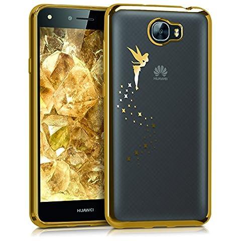 kwmobile Crystal Case Hülle für Huawei Y6 II Compact aus