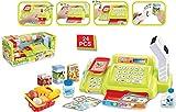 Quickdraw grün Kinder Kasse elektronisch Scanner Waage Supermarkt Einkaufen Spiel Tilly & 24 Zubehör 888a Test