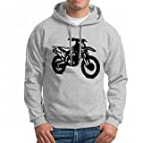 ruziniujidiangongsi Sweatshirt for Men Motocross Dirt Bike Kx 250 Hoodie