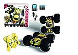 Dickie-Toys-203115000-RC-Flip-N-Race-Bumblebee-funkferngesteuertes-Transformers-Fahrzeug-inklusive-Batterien-25-cm