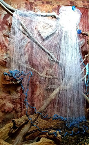 6 x 6 cm Netz Loch 40Mx1 2 m de Kiemennetz
