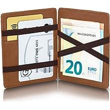 gento® Magic Wallet Venetian con Monedero – Wild de Aspecto de Piel – TÜV geprüfter