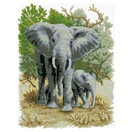 AIHOME 5D DIY Diamond Painting Elephant Diamond Mosaic Home Decoration Set Diamond Painting Kit
