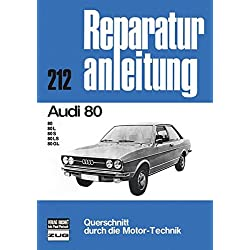 Audi 80: 80, 80 L, 80 S, 80 LS, 80 GL