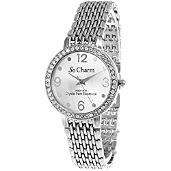 So Charm Silver Watch Made with SWAROVSKI Crystals from 46