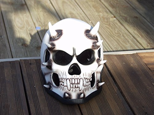 Casque intégral Skull Super hingucker Biker Harley d'occasion  Livré partout en Belgique