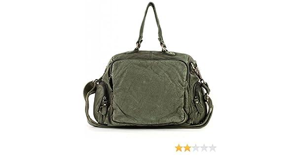 Trennschuhe suche nach authentisch verkauft FREDsBRUDER Handtasche Knautsch green khaki: Amazon.de ...