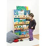 Libros Tidy - Librero Empresa de los Niños - The Original Childrens Librería y libro Display con alfabeto 3D en Natural Minúsculas