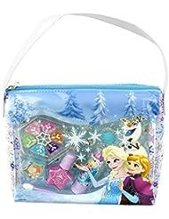 Disney Frozen / Die Eiskönigin / Geschenk-Set: Königliche Kosmetiktasche (Beauty Bag) + Make-up (Schminke)  - für Kinder