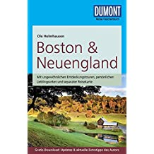 DuMont Reise-Taschenbuch Reiseführer Boston & Neuengland: mit Online-Updates zum Gratis-Download