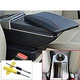 MyGone 2005-2011 Jetta mk5 Golf mk5 6 armlehne Box zentrale Shop Inhalt Box getränkehalter Innen Auto-Styling Produkte zubehör Schwarz + Werkzeug
