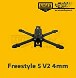 AMAXinno Freestyle 5 V2 (225mm) 5 Zoll FPV Racing Carbon Frame Quadrocopter Rahmen