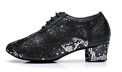 TDA - Sandali con Zeppa donna 4cm Heel Black