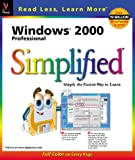 Windows 2000 Professional Simplified (3-D Visual)