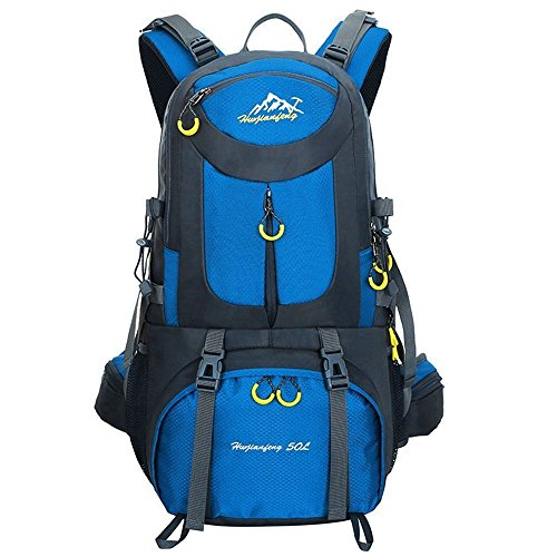 Imagen de 50l  de senderismo  al aire libre  de deporte al aire libre para escalada mountaineering camping pesca viajes ciclismo esquí