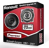 Pioneer Kit de haut-parleurs pour tableau de bord avant pour Renault Kangoo, 10cm,...