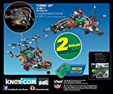 K'NEX Imagine Turbo Jet 2-in-1 Building Set for Ages 7+, Engineering Educational Toy, 402 Pieces