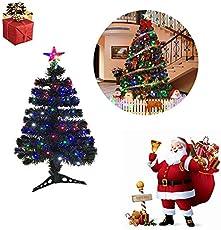 FROADP Künstlicher PVC Weihnachtsbaum Mit LED