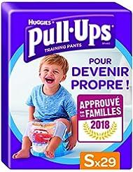 Huggies Pull-Ups, 29 Mutandine di apprendimento per bambino, Taglia 4 (8-15 kg)