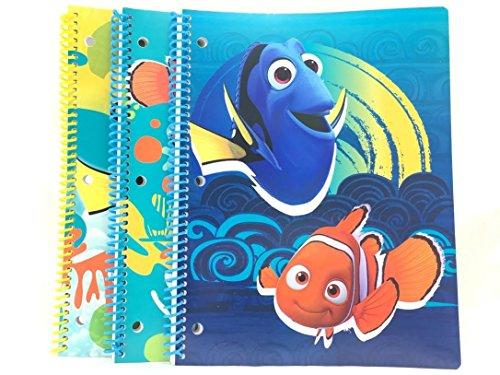 3PK. Finden Dory 50Blatt Single Thema Note Pad (Thema Nemo Finding)
