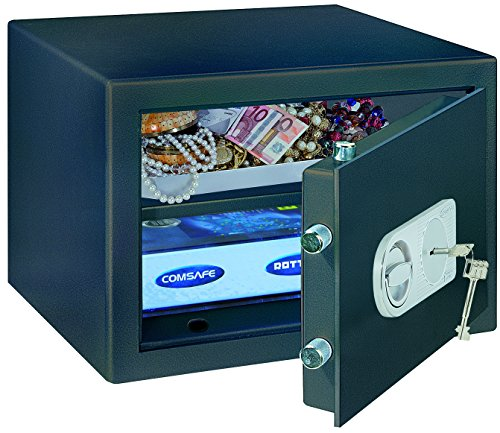 Rottner Samoa 40 Key Locking High Security Office Safe Cash for Home and Business