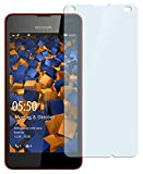 mumbi Film de protection d'écran Microsoft Lumia 550 en verre trempé - 9H Ultra Résistant