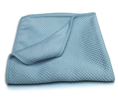 Stainless Steel Polishing Cloth Towel Premium Microfiber 16x16 Inch Pro Chef Kitchen Tools