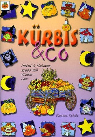 Kürbis & Co: Herbst & Halloweenspass mit Window-Color