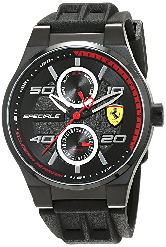 Orologio Analogico al Quarzo da Uomo, Scuderia Ferrari, 0830356