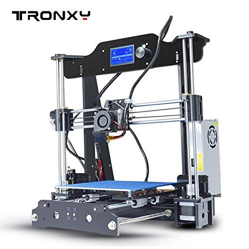 Tronxy Impresora 3D de Escritorio Apoyar Muti-idoma Tamaño Grande 220