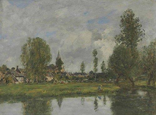 Das Museum Outlet-Village in der Umgebung von Dunkerque, gespannte Leinwand Galerie verpackt. 50,8x 71,1cm