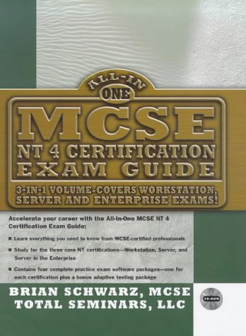 McSe-Nt4 Certification Exam Guide: Covers Workstation, Server and Enterprise Exams par  Brian Langan, etc., John Mitchell, Mark Cates