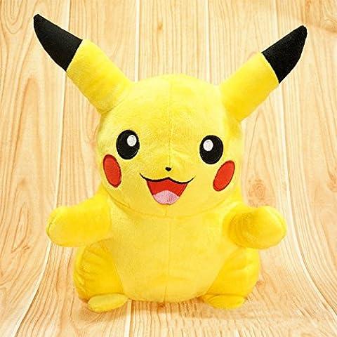 Merssavo POKEMON PIKACHU Pokemon del Juguete 15-20CM Mejor Regalo de Halloween para Niños