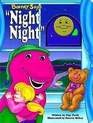 Barney Says Night, Night by Guy Davis (1998-10-02)