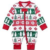 Navidad Familia Ropa Dormir Tops Camiseta Pantalones Familia Conjunto de Pijamas Familiares de Hombre Mujer Niños Niña