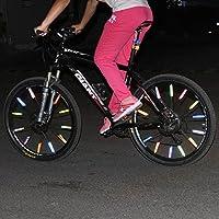 Bazaar 12 PCS Bike Fahrrad Rad sprach Reflektor reflektierende montieren Clip Rohr