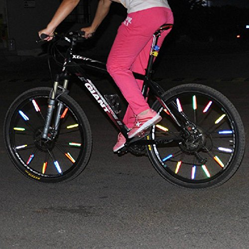 bazaar-12-pc-ruota-di-bicicletta-della-bici-ha-parlato-riflettore-riflettente-del-tubo-di-clip-di-mo