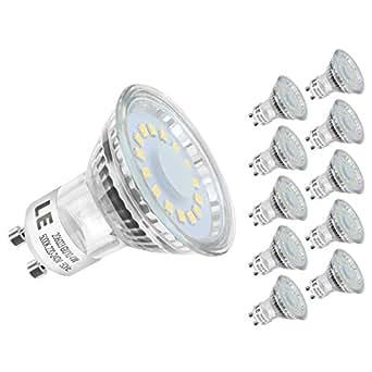 le 10er gu10 led lampen ersetzt 50w halogenlampen 4w mr16 kaltwei 5000k 120 abstrahlwinkel. Black Bedroom Furniture Sets. Home Design Ideas
