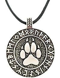 Bonsny Design Halskette Motiv Katze Anhänger Mode Schmuck Haustier Geschenk Lila