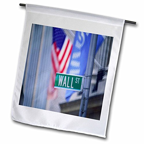3drose FL _ _ 1 50955 Wall Street Garten Flagge, 12 von 18 (Wall-street-single)
