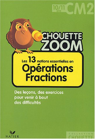 Opérations Fractions