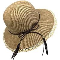 La Sra sombrero de paja, sombrero de la playa del verano versión coreana del sombrero de playa sol, protector solar Sra sombrero de viajar, protección UV