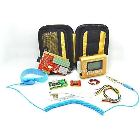 Nueva PCIe PCI LPC completo ordenador de sobremesa portátil analizador de diagnóstico de Placa Base POST de reparación Kit de solución de problemas prueba
