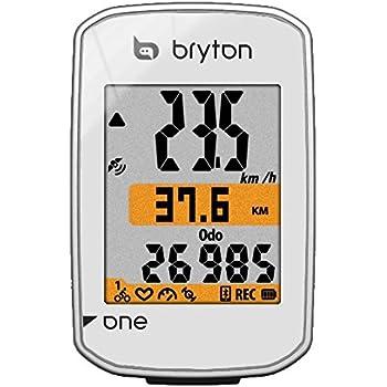 0829cd4eb Bryton Rider 310E - Ordenador de ciclismo con GPS: Amazon.es ...