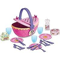 Imc Toys  43-180635- Cesta Picnic Minnie Con 17 Accesorios