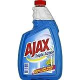 Ajax - Nettoyant vitre triple action, nettoie en profondeur - La recharge de 75cl - Prix Unitaire - Livraison...