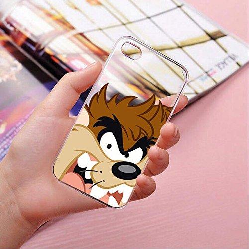 finoo | IPHONE 6 / 6S Lizensierte Hardcase Handy-Hülle | Transparente Hart-Back Cover Schale mit Looney Tunes Motiv | Tasche Case mit Ultra Slim Rundum-schutz | Tweety freut sich Taz von der Seite 2