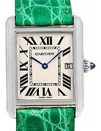 Cartier Tanque Louis Cuarzo Mens Reloj w1540956 (Certificado) de Segunda Mano