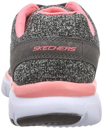 Skechers Skech-FlexWest End - Sneakers basses femme Noir - Schwarz (BKCL)